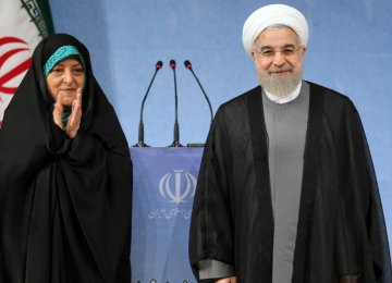 Rouhani: My Gov't Is Environment-Friendly