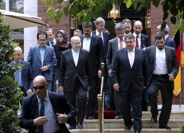 Germans Start Meetings  Over Post-Sanctions Ventures