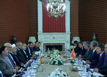 Tehran, Bishkek Sign MoUs to Jump-Start Coop.