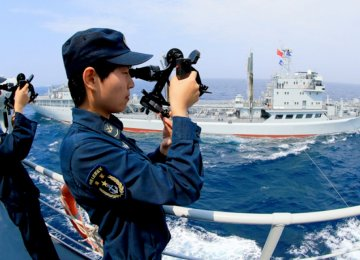 China Drills Near Korea Peninsula