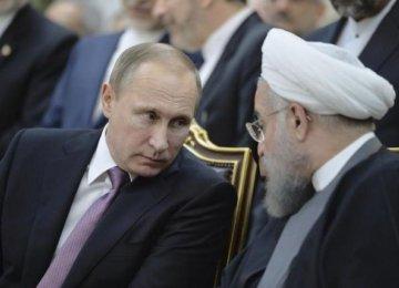 Rouhani, Putin Talk on Phone