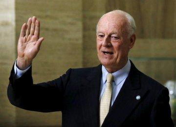 UN Syria Envoy Expected
