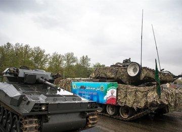 Army Unveils New Achievements