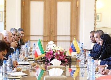 Tehran, Caracas to Boost Wide-Ranging Ties