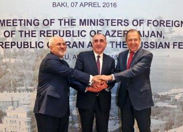 Tehran, Moscow, Baku to Boost Anti-Terror Fight