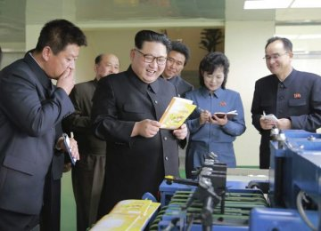 North Korea Fires Sub-Launched Missile
