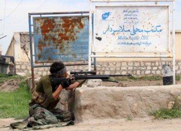 Heavy Fighting in Kunduz