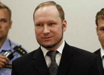 Norway Killer Breivik Sues Over Human Rights