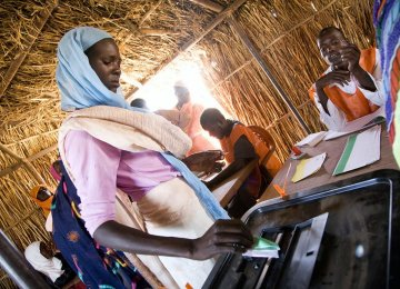 Darfur to Vote on Political Future