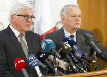 EU Ministers in Surprise Libya Visit