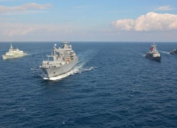NATO Moves Into Turkish, Greek Waters