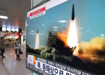 N. Korea Appears to Have Fired Missile Into Sea