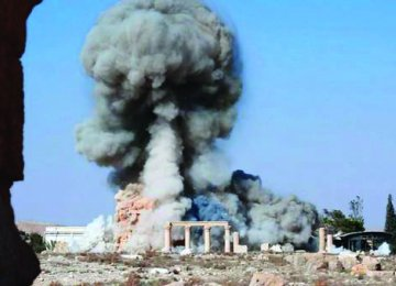 Why Is Cameron Silent on Recapture of Palmyra?