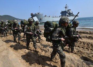 S. Korea, US Set for 'Largest Ever' Drills