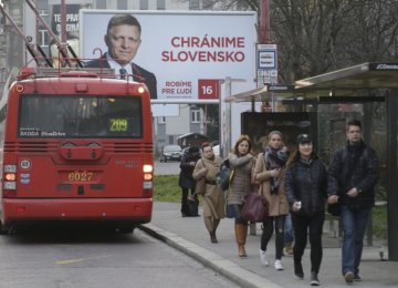 Ruling Party Wins Slovakia Elections
