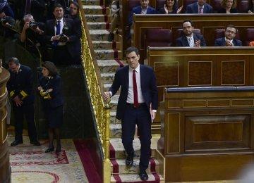 Spain Socialists Fail to Form Cabinet Again