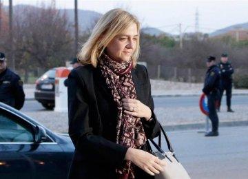 Spain's Princess Testifies in Tax Evasion Case