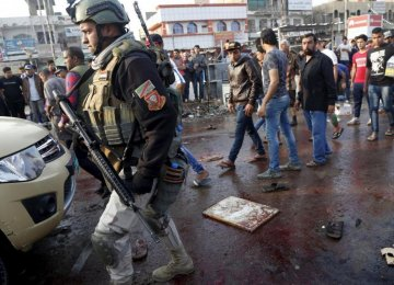 48 Killed in Iraq  Suicide Bombings