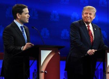 Trump, Rubio Row Over Islamophobia