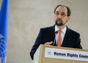 UN Rights Chief Blasts Trump Over Bigotry, Torture