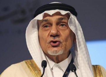 Saudi Prince Slams Obama's Mideast Comments
