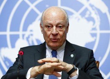 UN Envoy: No Plan B, But War for Syria