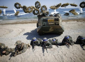 US, South Korea Stage Assault Drill