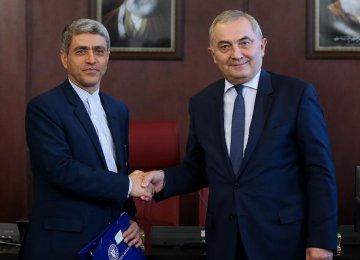 Romanian Minister Meets Tayyebnia