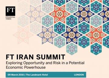 London to Host Iran Economic Summit