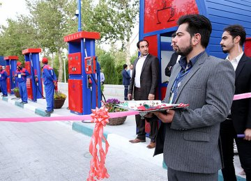 Single-Platform Gas Stations for Isfahan
