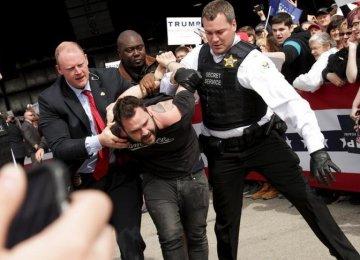 New Disturbance,  Setbacks for Trump