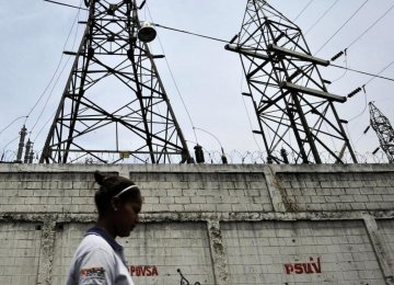 Venezuela Cuts Working Days to Ease Energy Crisis