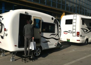 Iranian Campervans Take to the Road