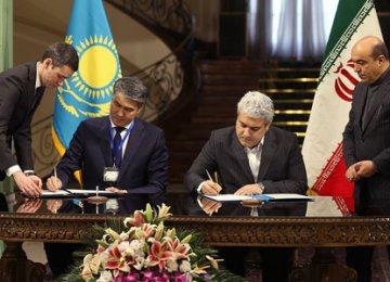 Iran, Kazakhstan Sign Technological MoUs
