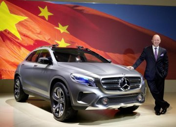 Mercedes-Benz China Sales  to Slow