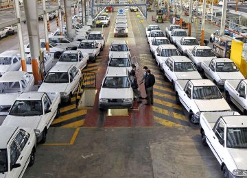 Iran's Meager Share in Global Auto Market