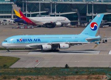 S. Korean Flag Carriers Vie for Tehran Route