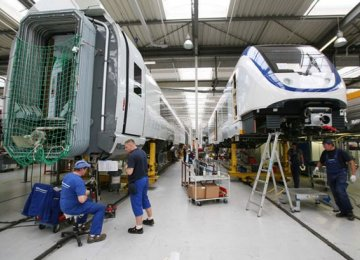 German Factory Output Falls