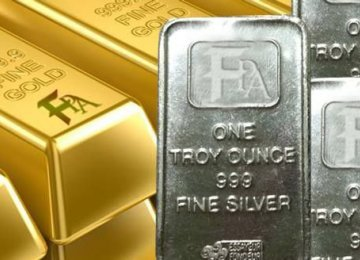 Silver, Gold Higher
