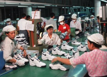 Asian Factories Hit Hard