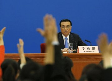 China's Primier Outlines  Dual Growth-Reform Plan
