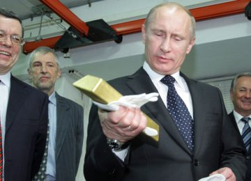 Hard Currency, Gold Putin's Top Reserve Priority