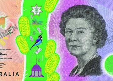 New A$5 Note Unveiled