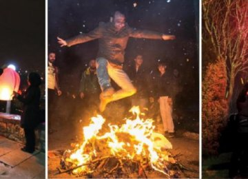 Social Media Calls for Simple 'Chaharshanbe Suri'