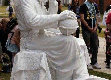 Khayyam Statue at Oklahoma University