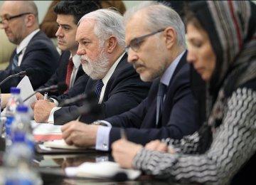 Iran-EU Workgroup to Expand Energy Ties