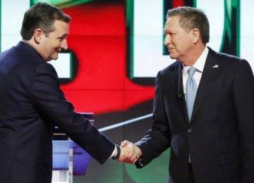 Cruz, Kasich Close Ranks Against Trump