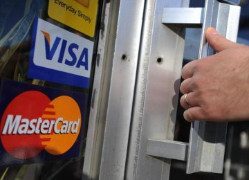 Talks Underway With Visa, Master Card