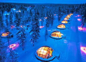 Igloo-Style Resort Approved