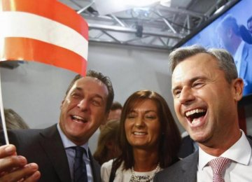 Austrian Far-Right Party Sweeps 1st Round
